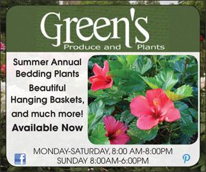 Green's Produce Ad
